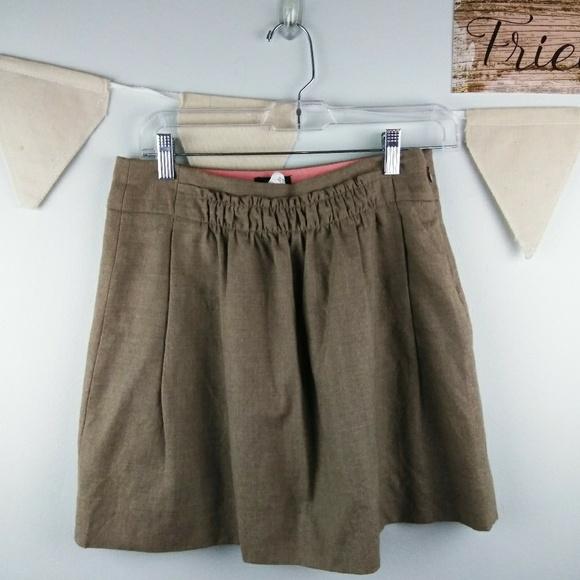 J. Crew Dresses & Skirts - J. Crew  sidewalk wool skirt